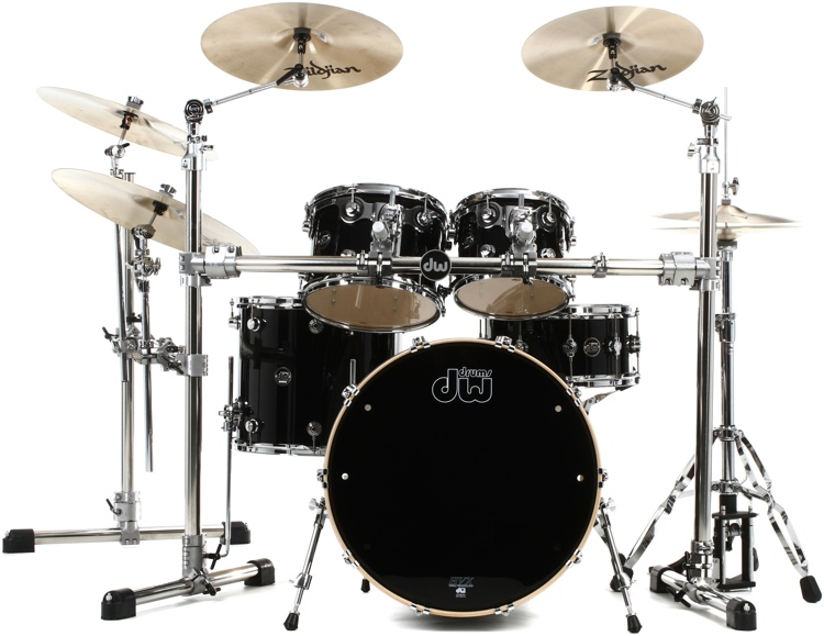 DW Performance Series 5-piece Shell Pack with Snare - 22