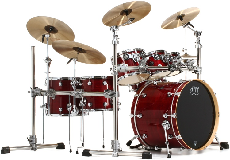 DW Perforance Lacquer 6-piece Shell Pack - 24