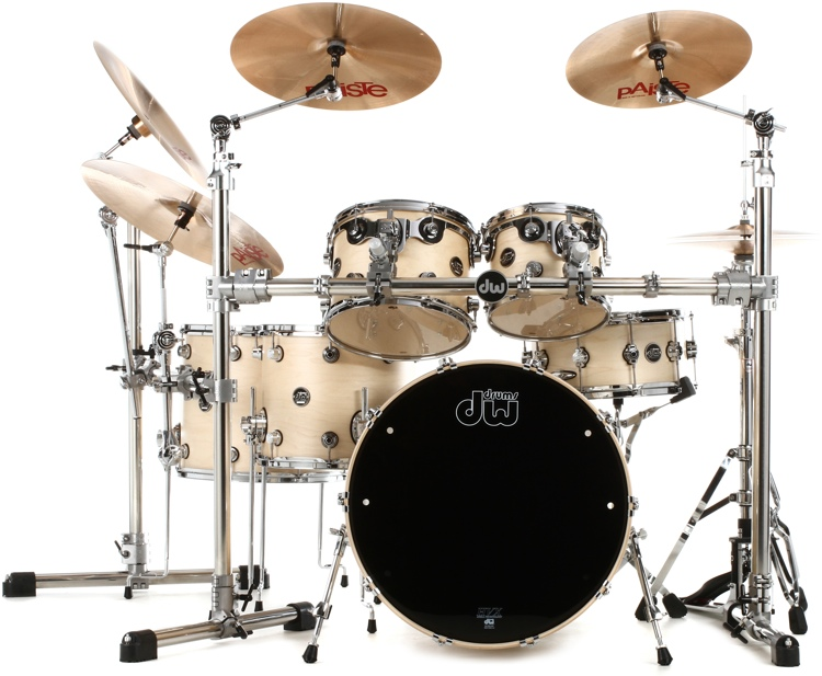 DW Performance Series 6-piece Shell Pack with Snare Drum - 24