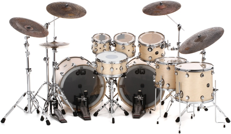 DW Performance Series Double Bass Shell Pack