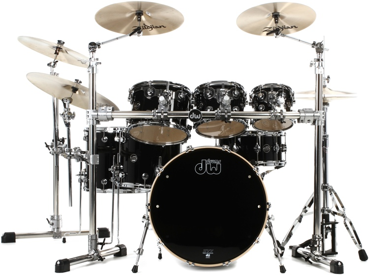 DW Performance Series 7-piece Shell Pack with Snare - 22