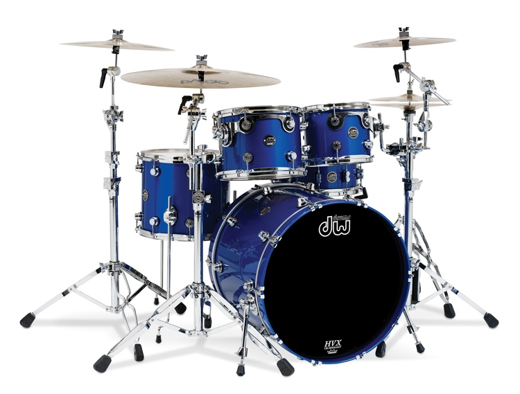 DW Performance Series 5-piece Shell Pack - Sapphire Blue image 1