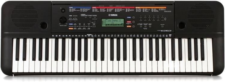 Yamaha PSR-E263 61-key Portable Arranger image 1