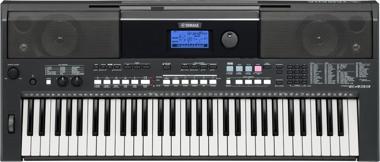 Yamaha PSR-E433 61-key Portable Arranger image 1