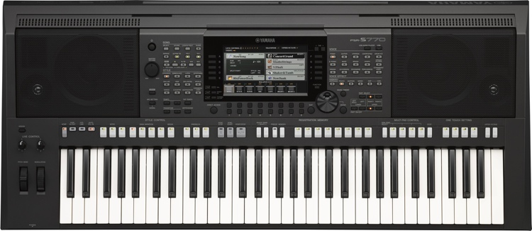Yamaha PSR-S770 61-key Arranger Workstation image 1