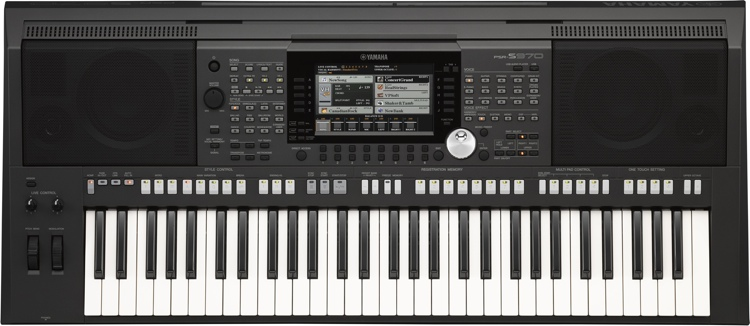 Yamaha PSR-S970 61-key Professional Arranger Workstation image 1