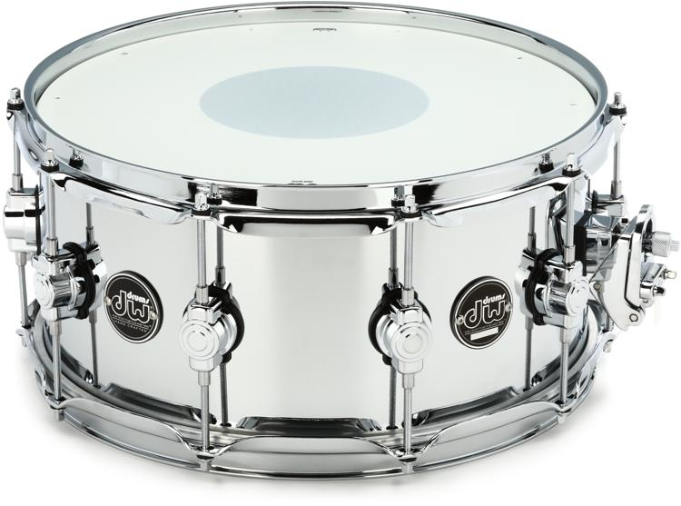 DW Performance Series Steel Snare - 6.5