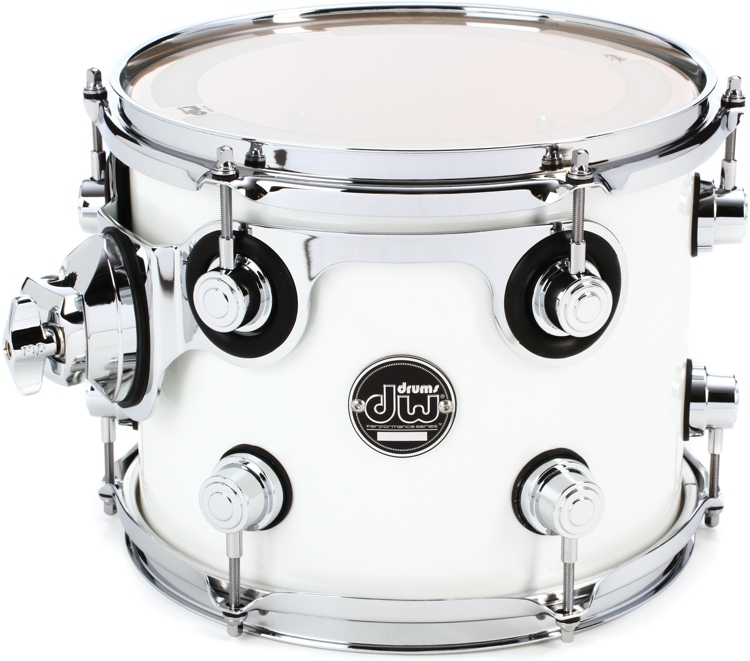 DW Performance Series Mounted Tom 7x8 - White Ice Lacquer image 1