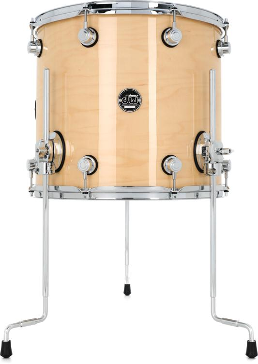 DW Performance Series Floor Tom - 14x16 - Natural Lacquer image 1