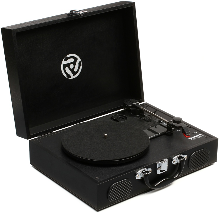 Numark PT01 Touring Suitcase Turntable image 1