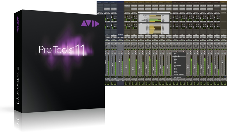 Avid Pro Tools 11 for Students - Upgrade from M-Powered (download) image 1