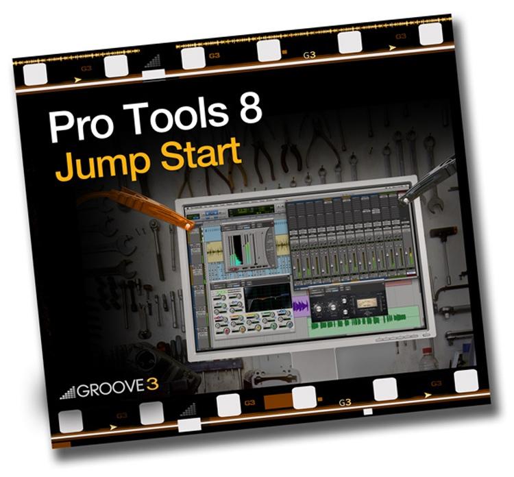 Groove3 Pro Tools 8 Jump Start image 1
