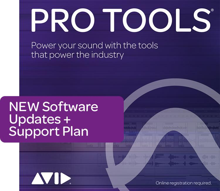 Avid Annual Upgrade Plan for Pro Tools - Reinstatement image 1