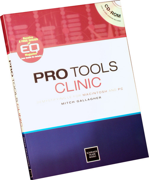 Schirmer Trade Books Pro Tools Clinic image 1
