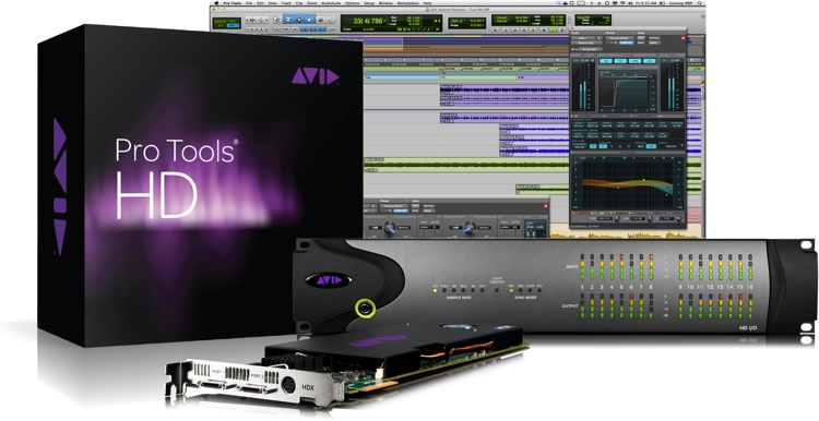 Avid Pro Tools|HDX + HD I/O 16x16 Digital image 1