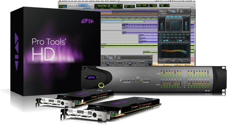 Avid Pro Tools | HDX2 + HD I/O 16x16 Analog image 1