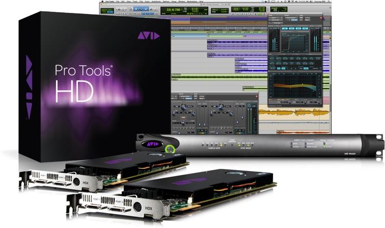 Avid Pro Tools | HDX2 + HD MADI image 1
