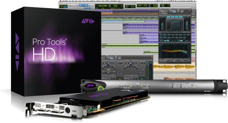 Avid Pro Tools | HDX + HD MADI image 1