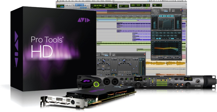 Avid Pro Tools HDX + HD OMNI image 1