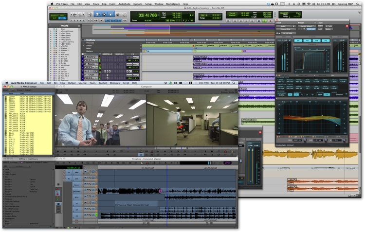 Avid Pro Tools 11 / Media Composer 7 Two-Pack Bundle for Students image 1