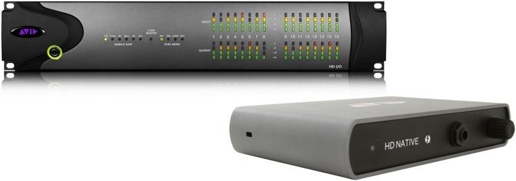 Avid Pro Tools|HD Thunderbolt + HD I/O 16x16 Analog image 1