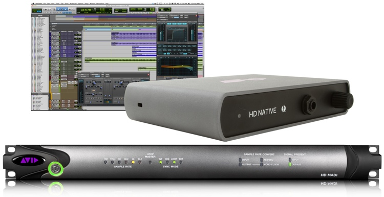 Avid Pro Tools | HD Thunderbolt + HD I/O MADI image 1