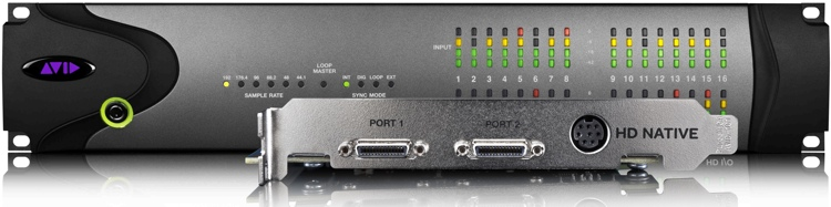Avid Pro Tools|HD Native + HD I/O 16x16 Analog image 1