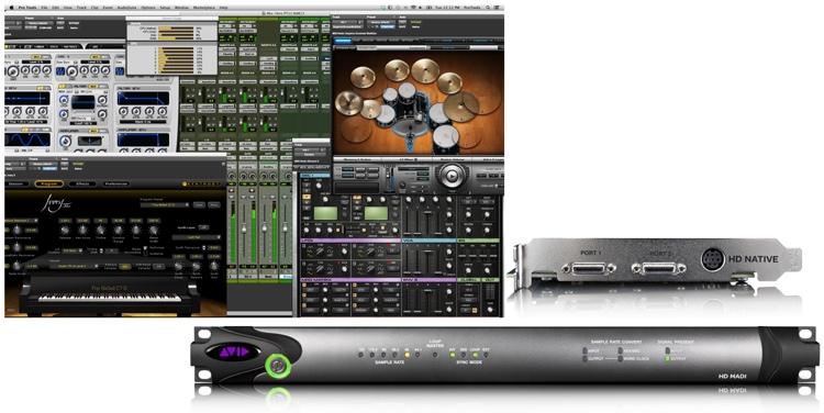Avid Pro Tools | HD Native + HD MADI I/O image 1