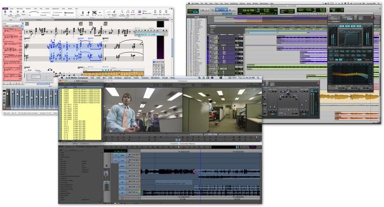 Avid Pro Tools / Media Composer / Sibelius Triple Pack Bundle for Students image 1