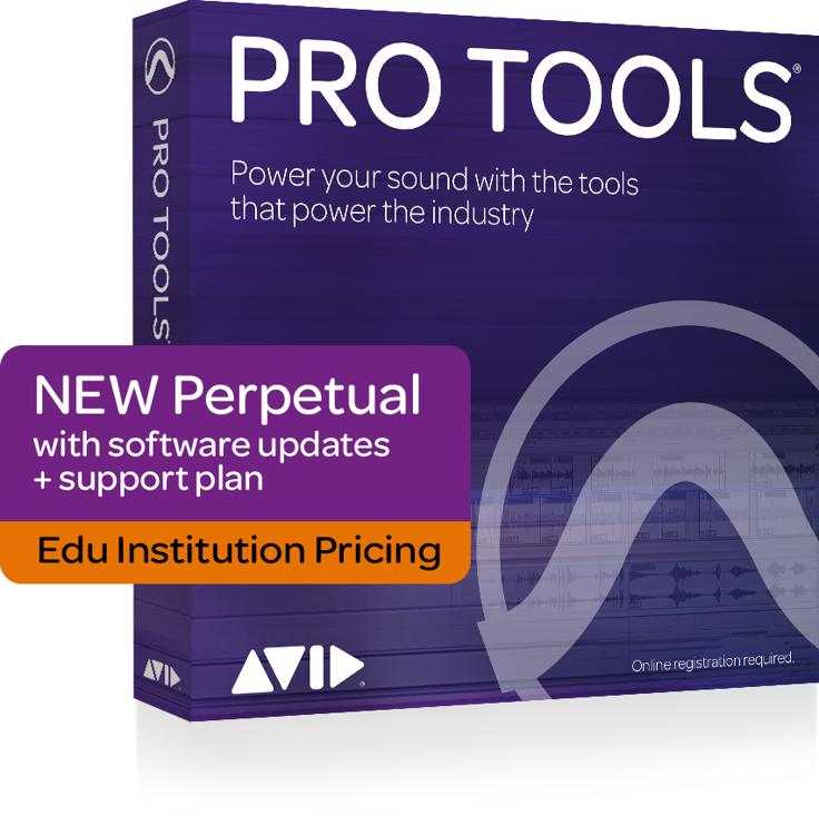 Avid Avid Pro Tools 12 Software for Educational Institutions (boxed - includes iLok) image 1