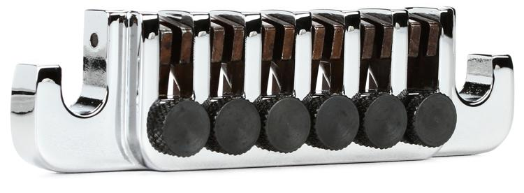 Gibson Accessories TP-6 Tailpiece w/ Fine Tuners, Studs & Inserts - Chrome image 1