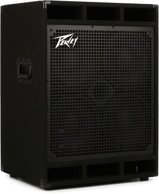peavey bass cabinet peavey pvh 410 4x10 quot 1200w bass cabinet sweetwater 24611