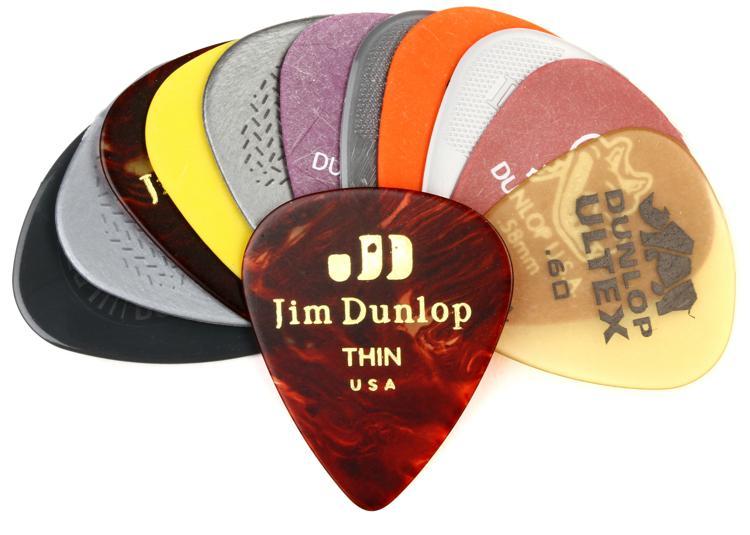 Dunlop PVP101 Pick Variety Pack - Light/Medium image 1