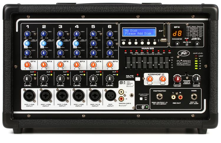 Peavey PVi 6500 6-channel 400W Powered Mixer image 1