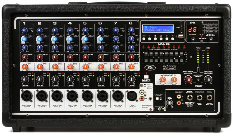 Peavey PVi 8500 8-channel 400W Powered Mixer image 1
