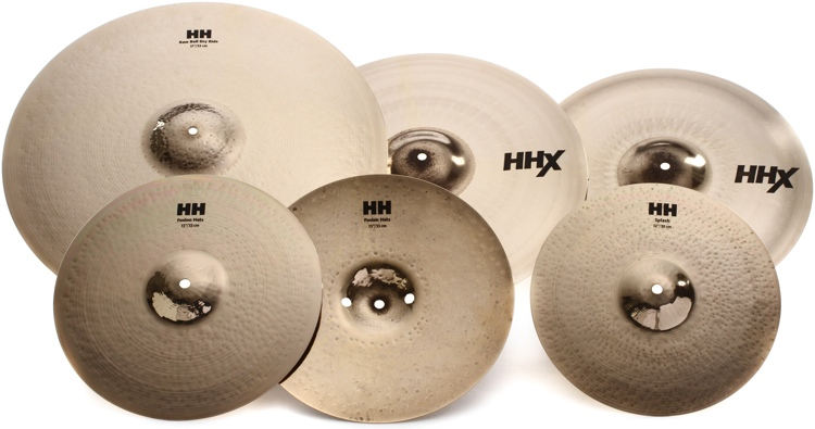 Sabian HHX Praise and Worship 5-piece Cymbal Pack image 1