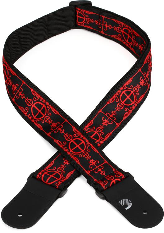 D\'Addario Planet Waves 50A12 50mm Voodoo Woven Guitar Strap image 1