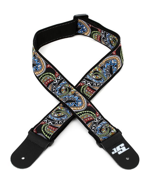 D\'Addario Planet Waves 50JS04 Joe Satriani 50mm Snakes Mosaic Guitar Strap image 1