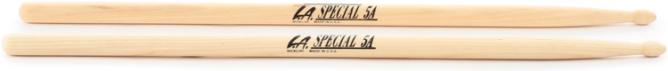 Promark LA5AW LA Special 5A Drumsticks - Wood Tip 1 Pair image 1