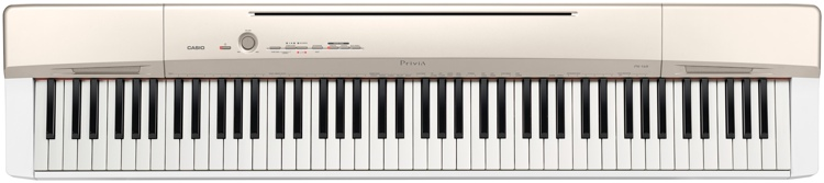 Casio Privia PX-160 Digital Piano - Champagne image 1