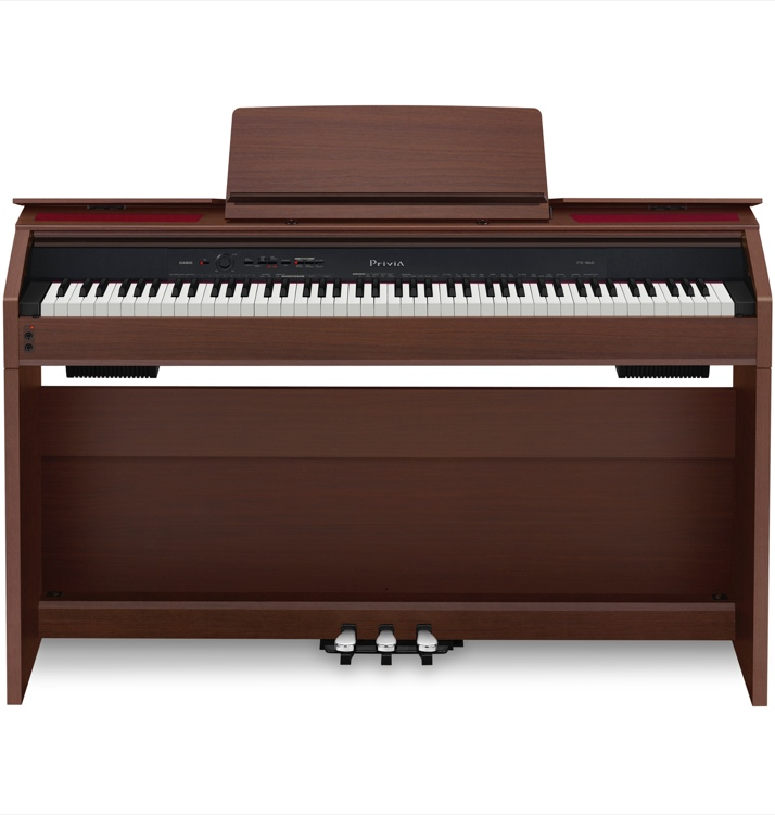 Casio Privia PX-860 - Brown Finish image 1
