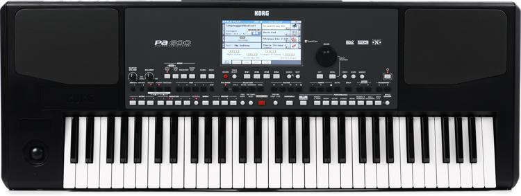 Korg Pa600 61-key Arranger Workstation image 1