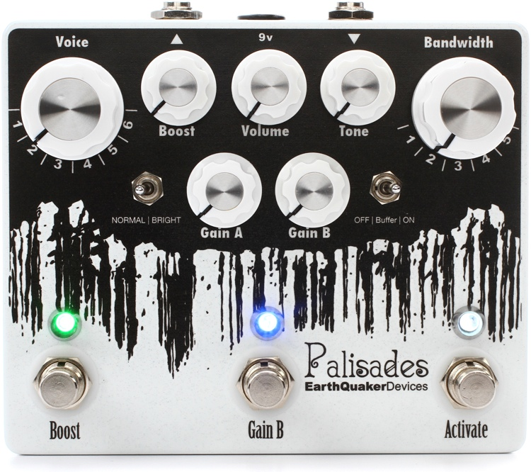 EarthQuaker Devices Palisades Overdrive Pedal image 1