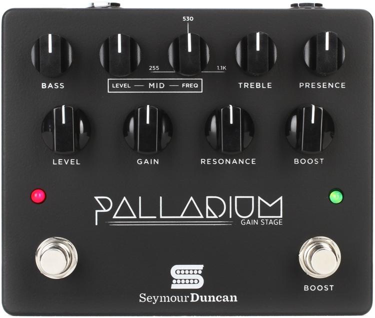 Seymour Duncan Palladium Gain Stage Distortion Pedal - Black ...