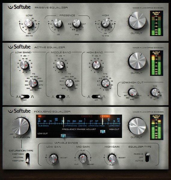 Softube Passive-Active EQ Pack Plug-in Suite image 1