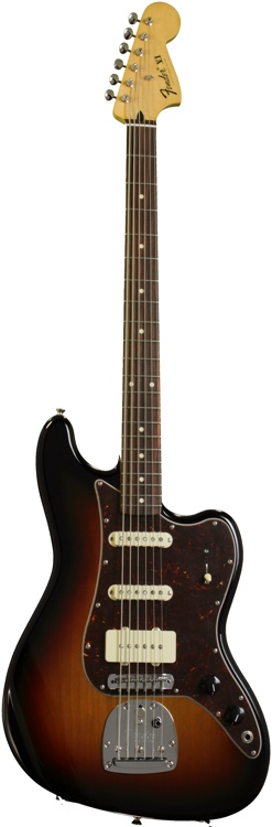 Fender Pawn Shop Bass VI Rosewood - 3-color Sunburst image 1