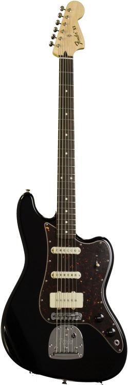 Fender Pawn Shop Bass VI Rosewood - Black image 1