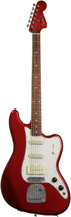 Fender Pawn Shop Bass VI - Rosewood, Candy Apple Red image 1