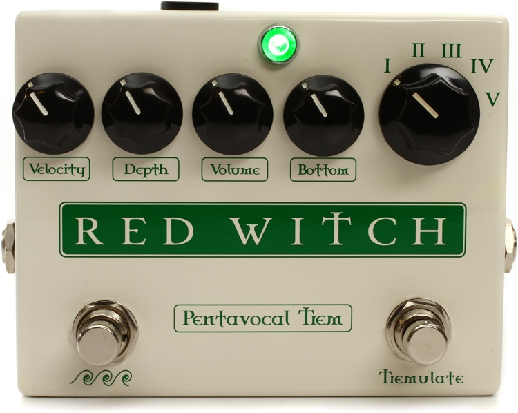 Red Witch Pentavocal Tremolo Pedal image 1