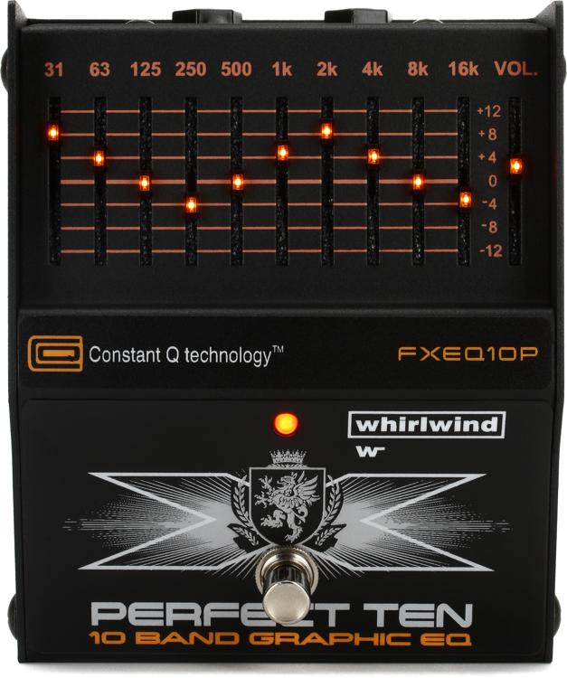 Whirlwind Perfect Ten 10-band Graphic EQ Pedal image 1